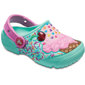 Crocs Fun Lab Clogs Kids Mint/Party Pink